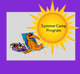 summer program with sun and andy in beach chair